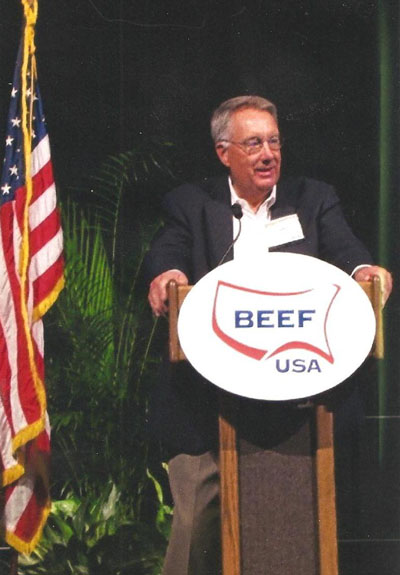 Gary Speaking at NCBA Convention